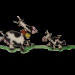 motif vaches