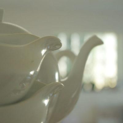 porcelaine blanche