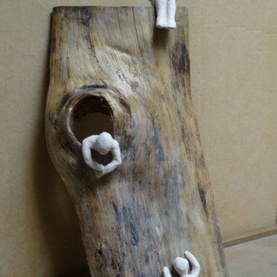 Sculpture bois et terre, cours adulte